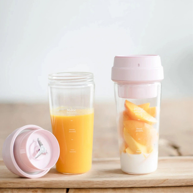 17PIN 400ML Star Fruit Juicer Bottle