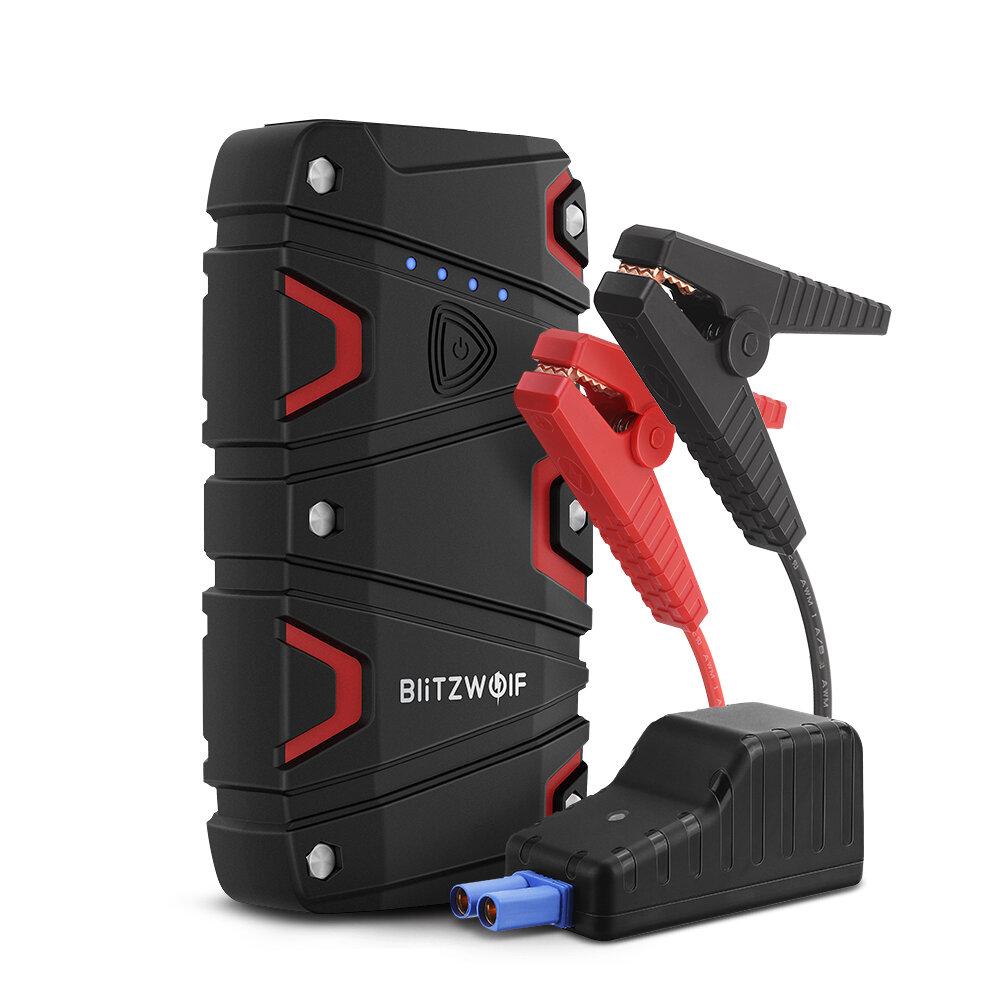 BlitzWolf® BW-JS1 Portable Car Jump Starter 12000mAh