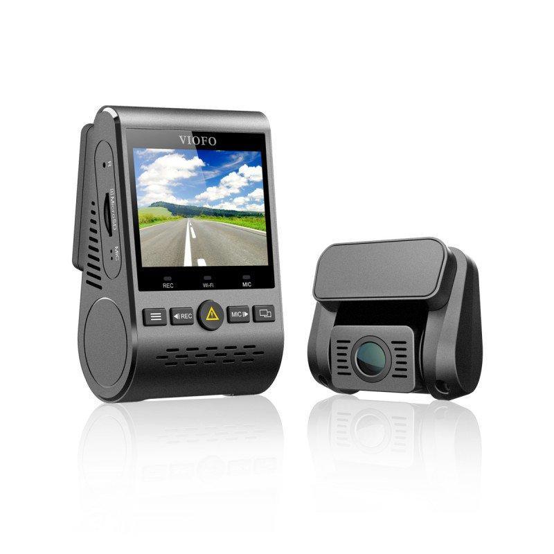 מצלמת רכב HD דואלית עם 2 מצלמות לצילום פנים וחוץ Viofo