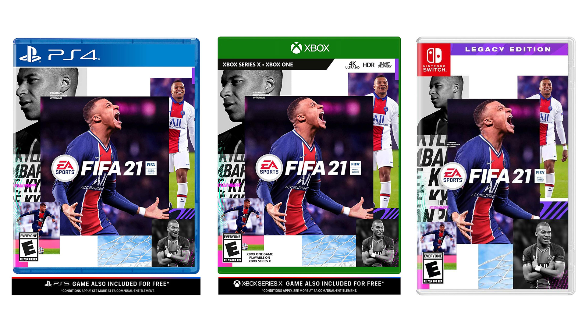 FIFA 21 פיפא 21 עותק פיזי – Ps4 / XBOX ONE / Nintendo Switch