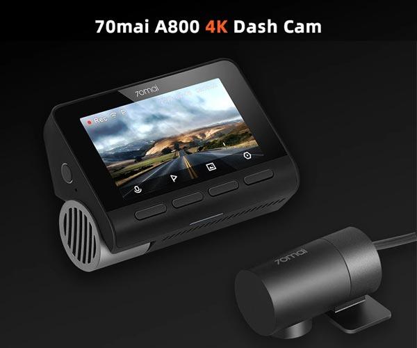 70mai A800 4K Smart Dash Cam