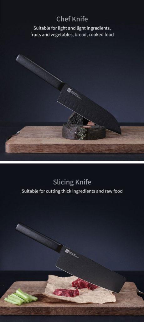 זוג סכינים איכותיים מבית שיאומי Xiaomi HUOHOU