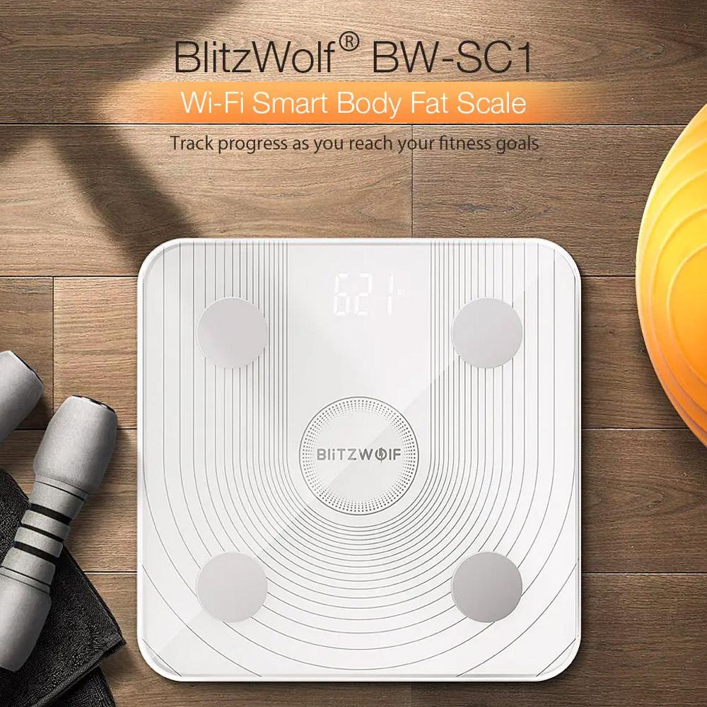 משקל גוף חכם בליטזוולף BlitzWolf® BW-SC1