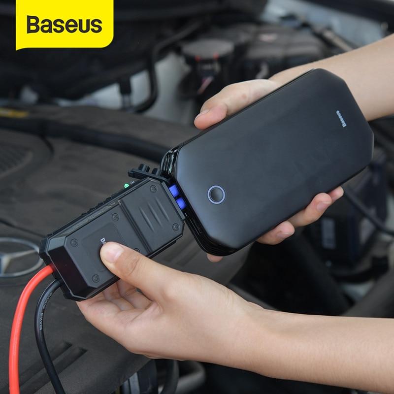 בוסטר התנעה לרכב Baseus בנפח 8000mAh