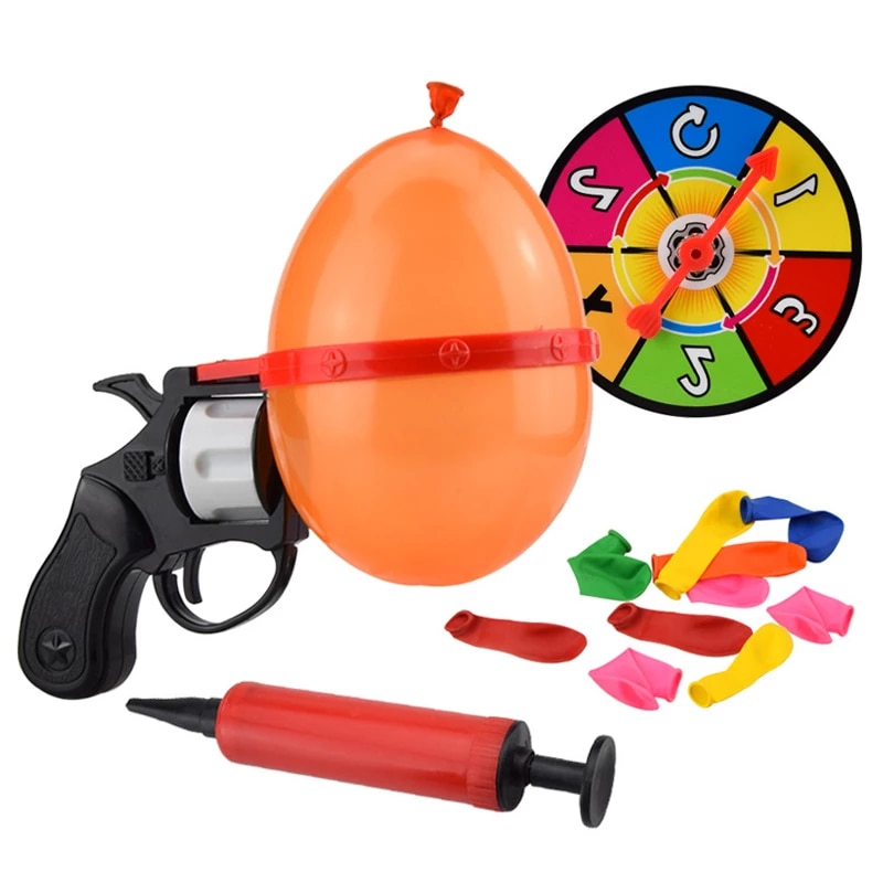Russian Roulette Party Balloon Gun